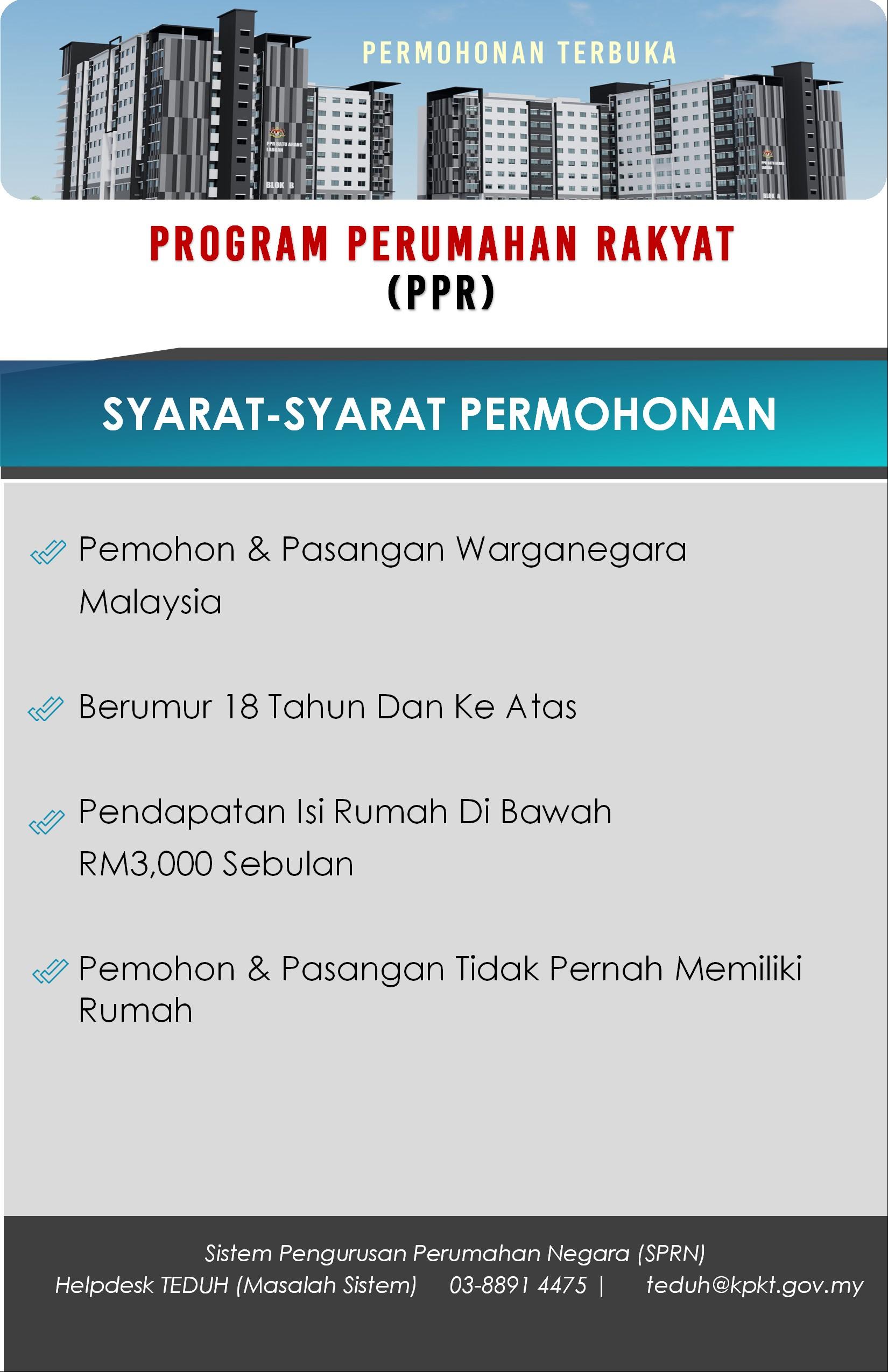 Syarat PPR